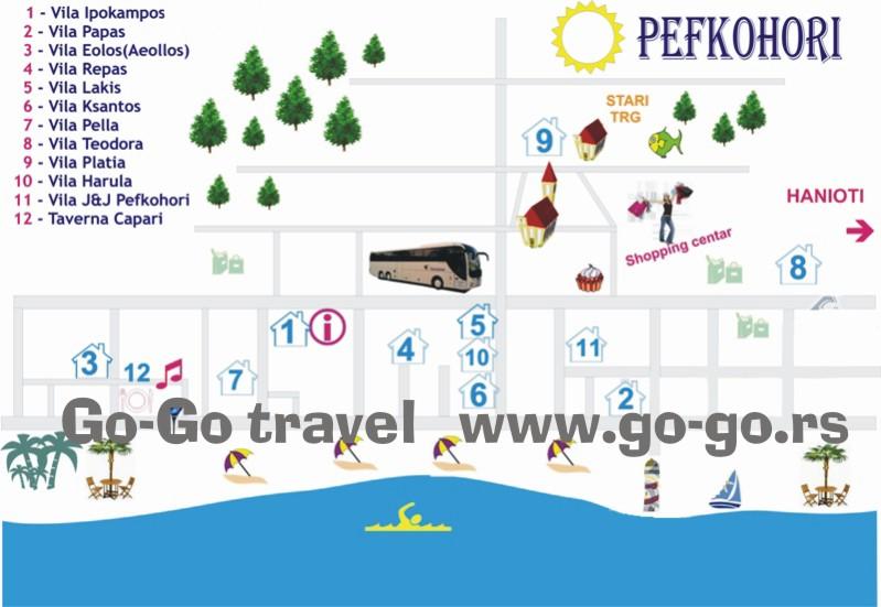 pefkohori mapa Index of /wp content/gallery/pefkohori vila platia pefkohori mapa