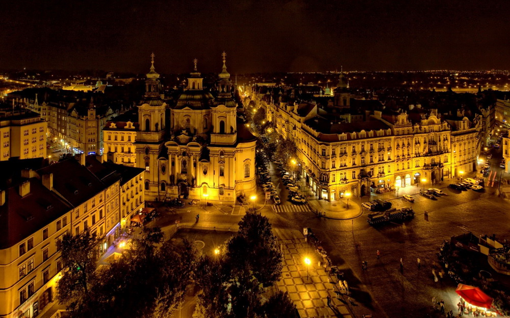 Prague-at-night
