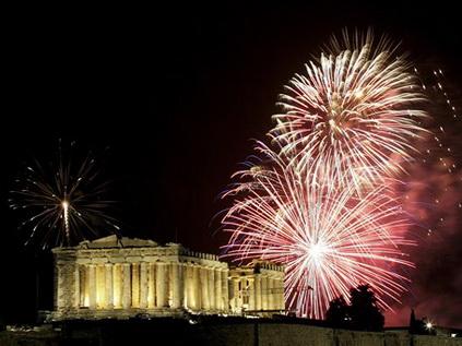 Greece New Year