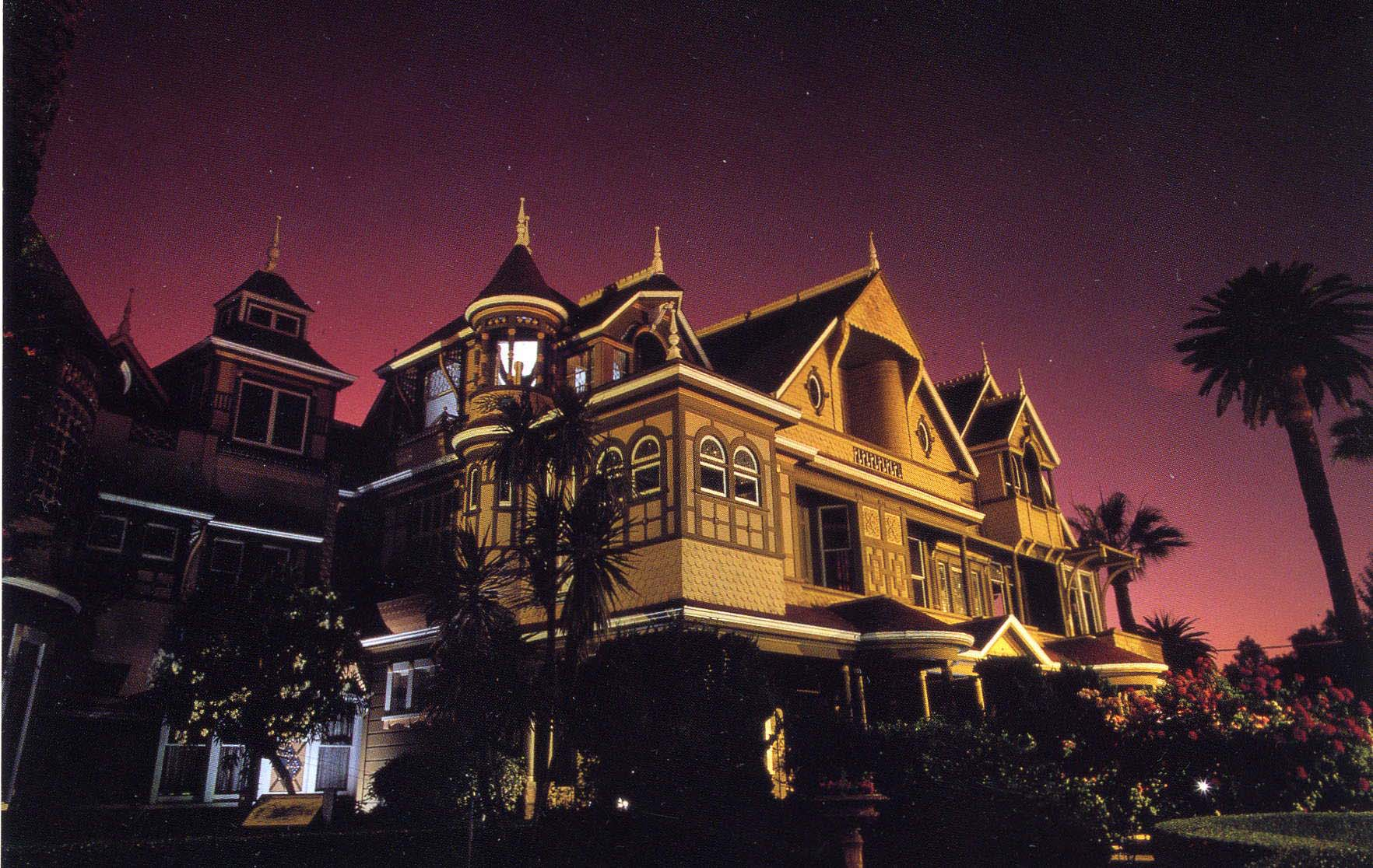 Winchester House Night Shot
