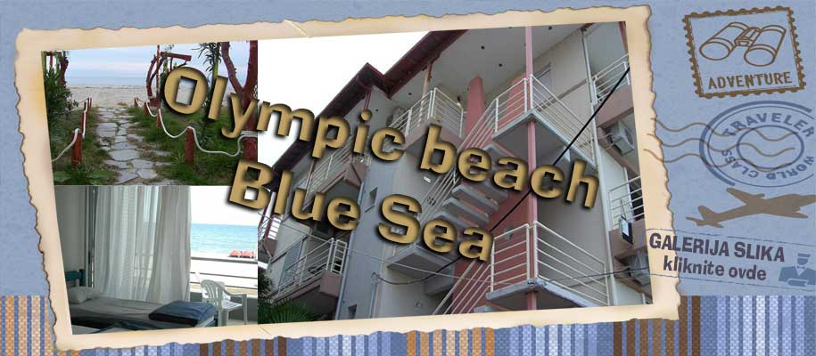 Olimpich beach Blue Sea-slike
