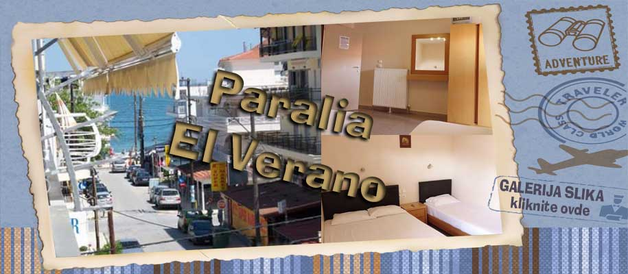 Paralia vila El Verano slike