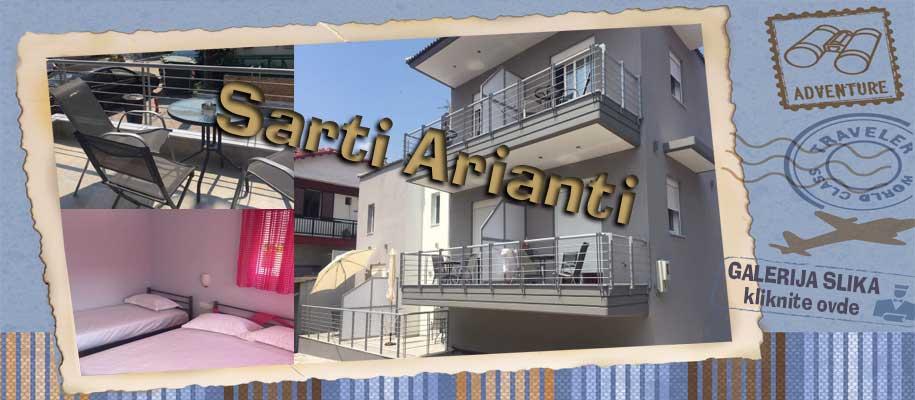Sarti  vila Arianti slike