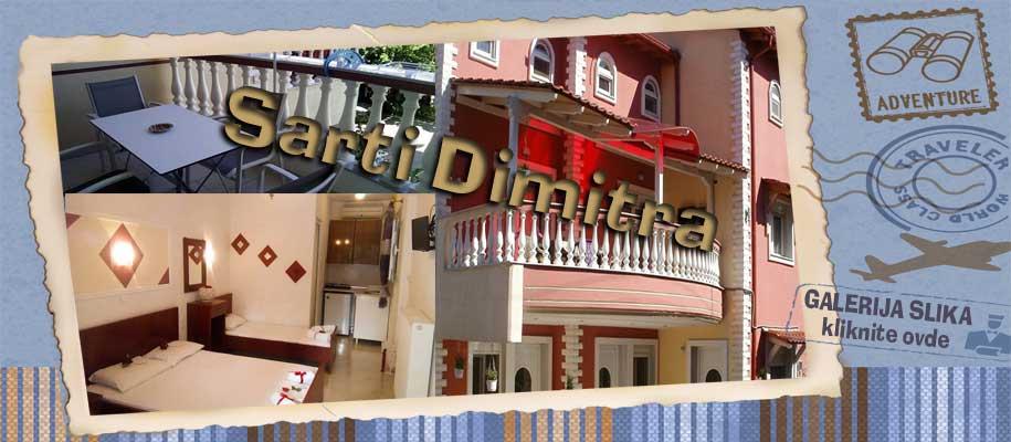 Sarti vila Dimitra