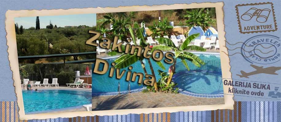 Zakintos vila Divina