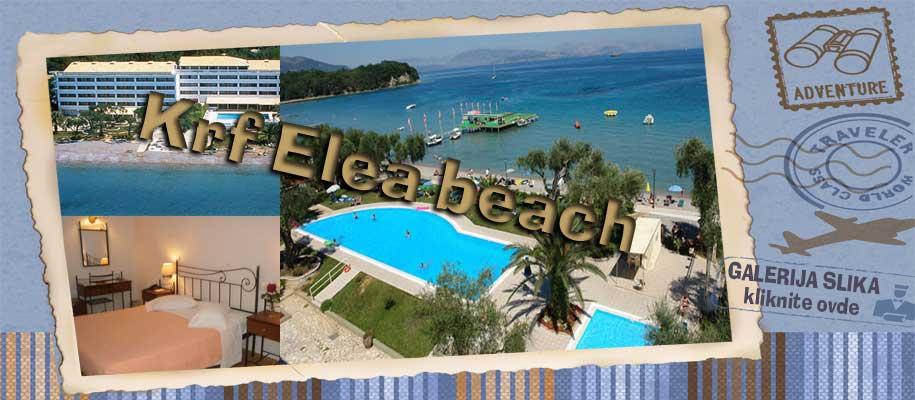 Krf Elea beach slike