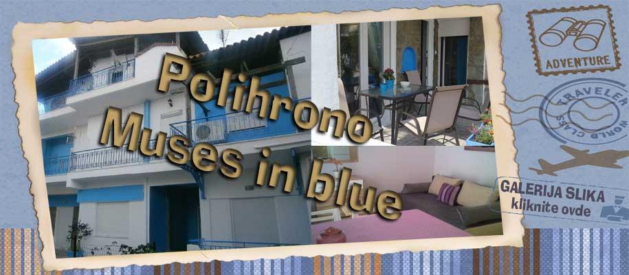 Polihrono Muses in blue slike