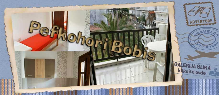 Pefkohori vila Bobis slike