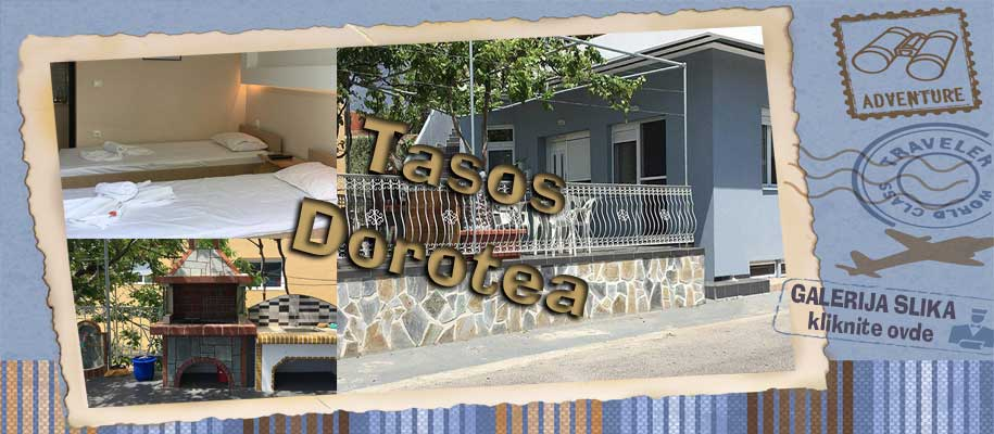 Tasos vila Dorotea slike