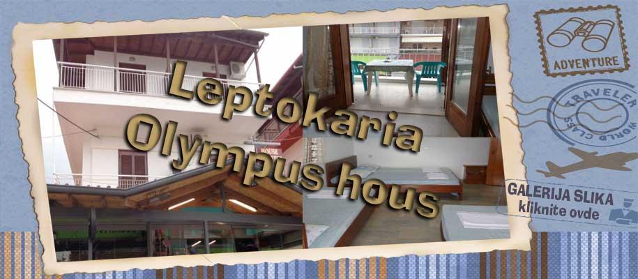 Leptokaria Olympus house slike