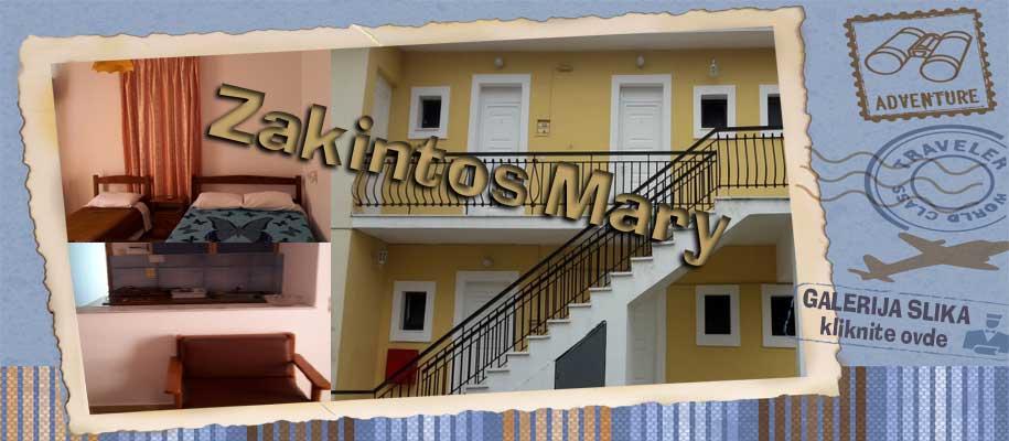 Zakintos vila Mary